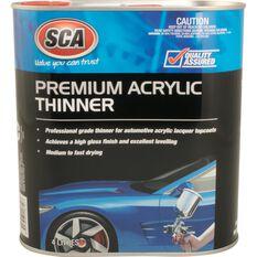 SCA Premium Acrylic Thinner - 4 Litre, , scaau_hi-res