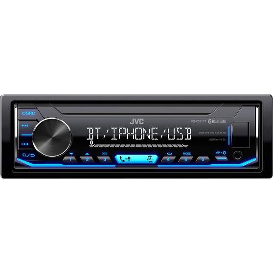 JVC Digital Media Player with Bluetooth KDX351BT, , scaau_hi-res