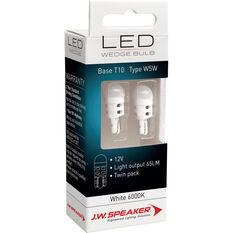 LED Wedge Kit - T10, 12V, 6000K, W5W, , scaau_hi-res