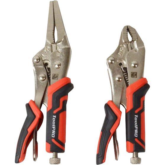 ToolPRO Medium Locking Plier Set - 2 Pieces, , scaau_hi-res