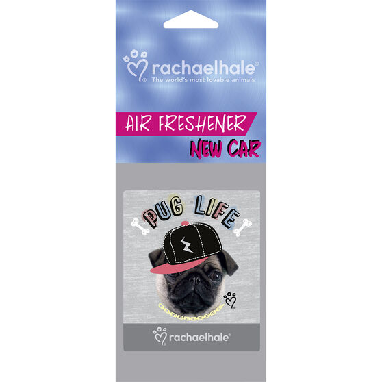 Rachel Hale Air Freshener - Pug Life New Car, , scaau_hi-res