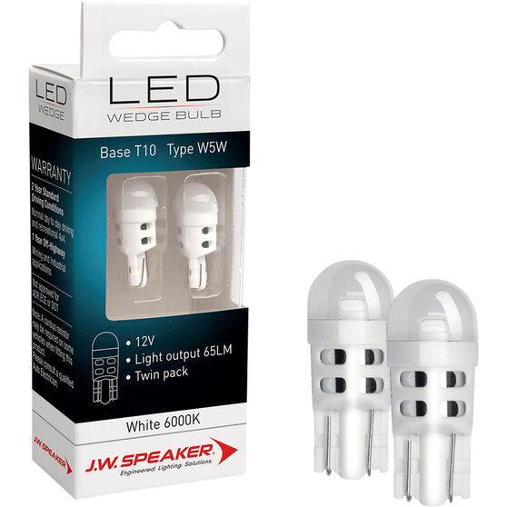 J.W. Speaker Interior Globe LED - 12V, T10, Wedge, , scaau_hi-res