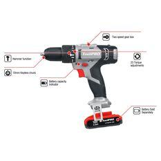 ToolPRO Hammer Drill Skin 18V, , scaau_hi-res