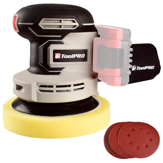 ToolPRO 2 in 1 Rotary Polisher and Sander Skin 18V, , scaau_hi-res