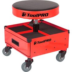 ToolPRO Roller Seat and Drawers - Red, , scaau_hi-res