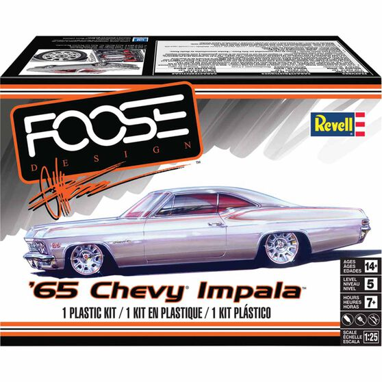 Revell '65 Chevy Impala 1:25 Scale Model Kit, , scaau_hi-res