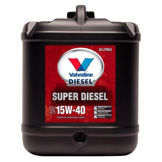 Valvoline Super Diesel Premium Mineral Oil - 15W-40, 20 Litres, , scaau_hi-res