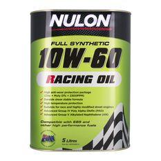 Racing Engine Oil - 10W-60, 5 Litre, , scaau_hi-res