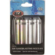 Air Sandblasting Nozzles - 3 Piece, , scaau_hi-res