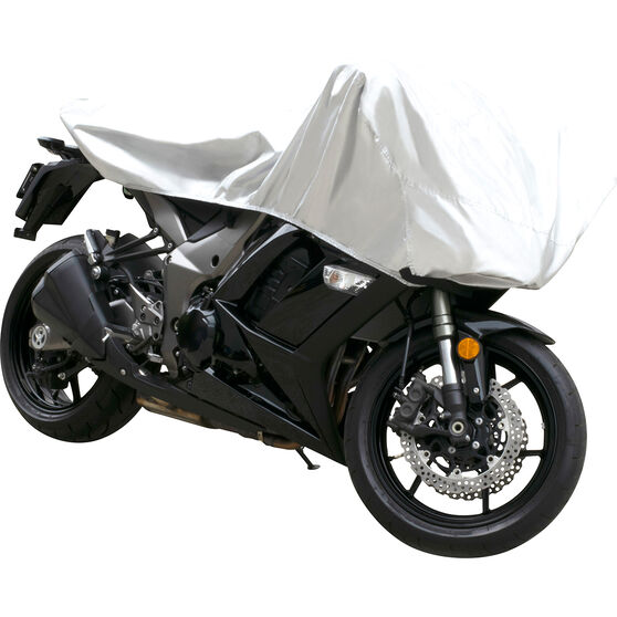 CoverALL Motorcycle Half Cover - Essential Protection - Suits Medium Motorcycles, , scaau_hi-res