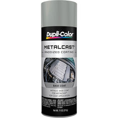 Dupli-Color Metalcast Aerosol Paint Enamel Grey Metallic Ground Coat 311g, , scaau_hi-res