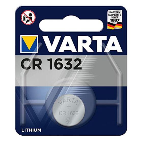 Varta Lithium Coin Battery - CR1632, 1 Pack, , scaau_hi-res