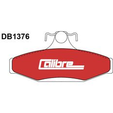 Calibre Disc Brake Pads DB1376CAL, , scaau_hi-res