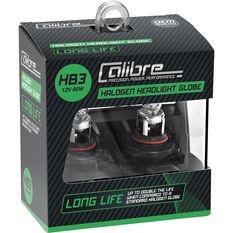 Calibre Long Life Headlight Globe HB3 12V 60W, , scaau_hi-res