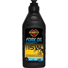 Full Synthetic Motorcycle Fork Oil - 15W, 1 Litre, , scaau_hi-res