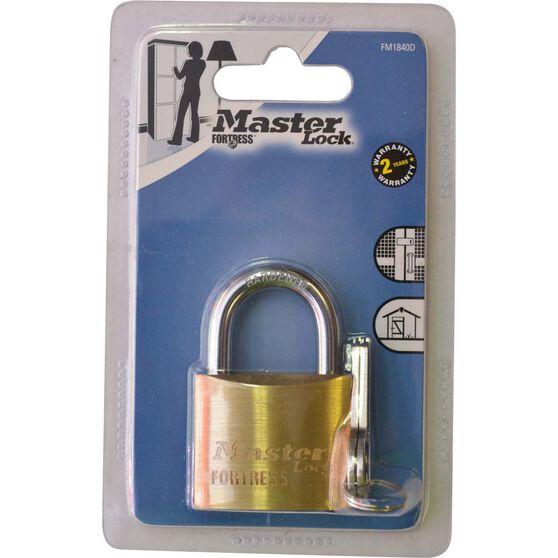 Master Lock Fortress Padlock - 40mm, , scaau_hi-res
