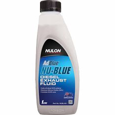 Nulon NU-BLUE Diesel Exhaust Fluid 1L, , scaau_hi-res