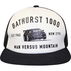 Man Vs Mountain Trucker Cap - One Size Fit Most, , scaau_hi-res