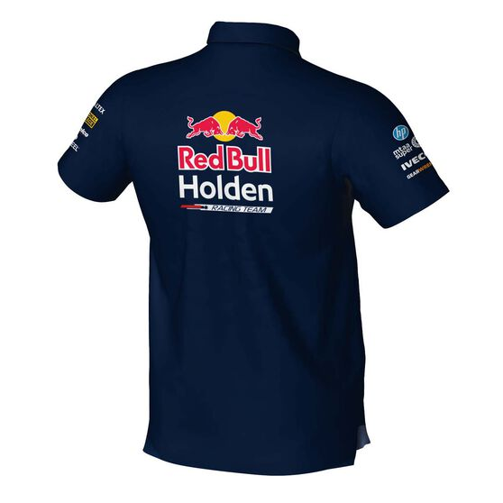 RedBull Holden Racing Team Men's 2020 Pit Shirt, Navy, scaau_hi-res