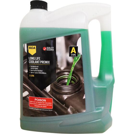 SCA Long Life Green Coolant Premix 5 Litre, , scaau_hi-res