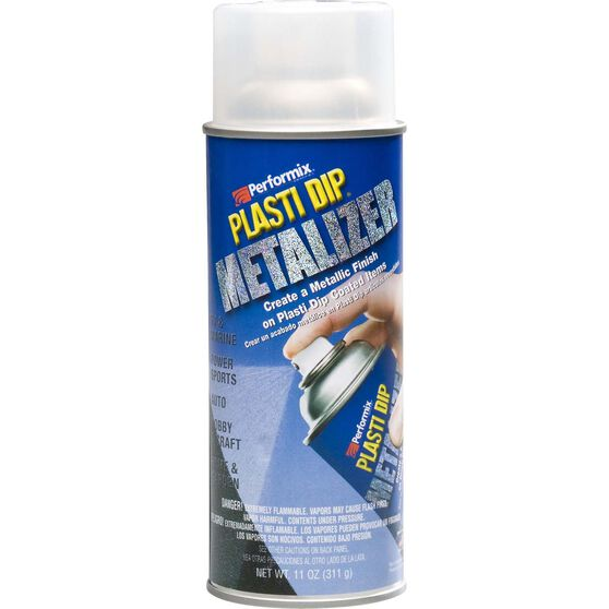 Plasti Dip Aerosol Silver Metalizer 311g, , scaau_hi-res