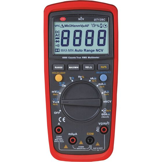 SCA Multimeter - Digital, , scaau_hi-res