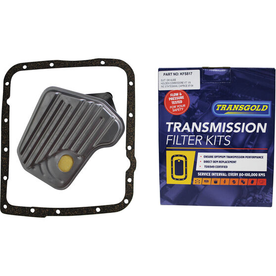 Transgold Automatic Transmission Filter Kit - KFS817, , scaau_hi-res