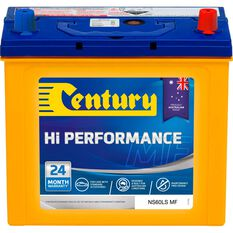 Century Hi Performance Car Battery NS60LS MF, , scaau_hi-res