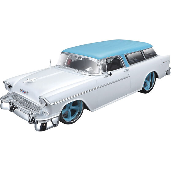 Die Cast 1955 Chevrolet Nomad - 1:18 Scale Model, , scaau_hi-res