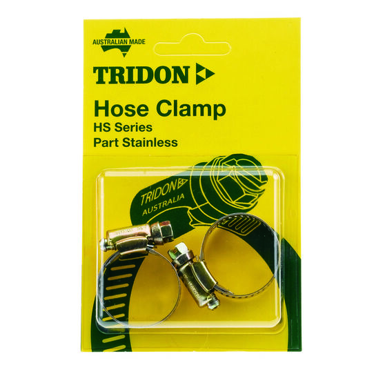 Tridon Hose Clamps - Part Stainless, 21-44mm, 2 Pieces, , scaau_hi-res