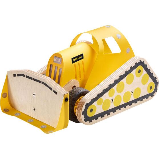 Stanley Jnr Build Kit - Bulldozer, Large, , scaau_hi-res