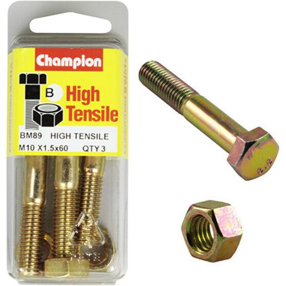 Champion Bolts - M10 X 60, BM89, , scaau_hi-res