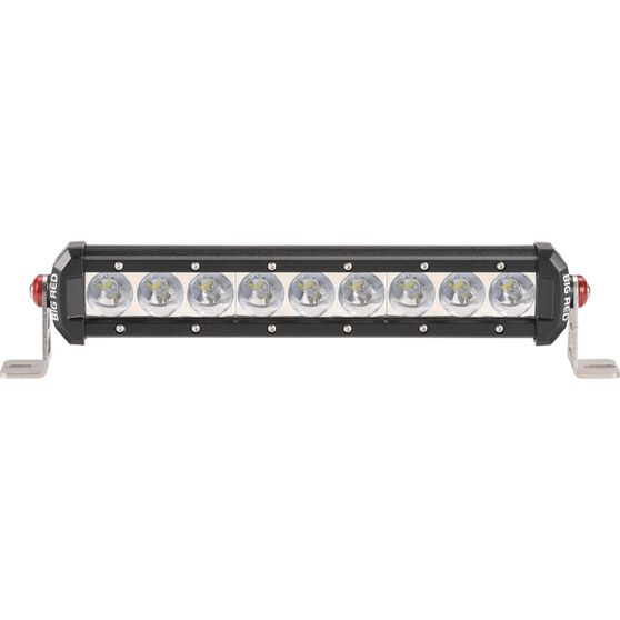 Big Red Driving Light Bar - 12 inch, 9 x 3W, LED, Single Spot, , scaau_hi-res