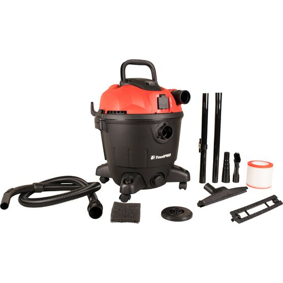 ToolPRO Wet and Dry Vacuum Cleaner with Socket 35 Litre, , scaau_hi-res