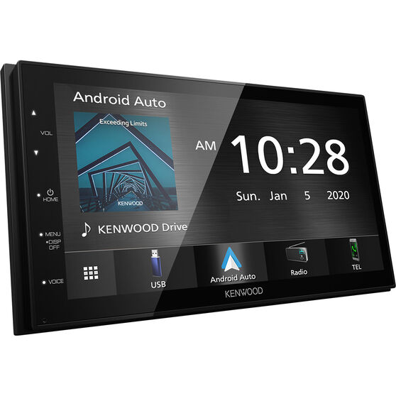 Kenwood 7 Inch CarPlay and Android Auto Media Player DMX5020S, , scaau_hi-res
