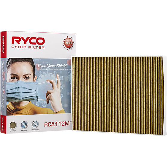 Ryco Cabin Air Filter N99 MicroShield RCA112M, , scaau_hi-res