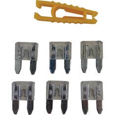 SCA Fuse Mini Blade - 25 AMP, 6pce, , scaau_hi-res