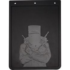 4X4 Mudguards - Ned Kelly, Pair, 280 x 350mm, , scaau_hi-res