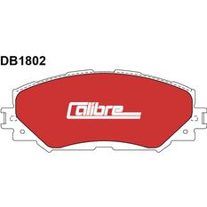 Calibre Disc Brake Pads DB1802CAL, , scaau_hi-res