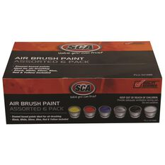 Airbrush - Paint Kit, Assorted, 6 Pack, , scaau_hi-res