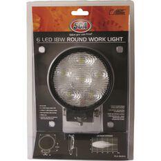 SCA Work Light - 18W, Round, , scaau_hi-res