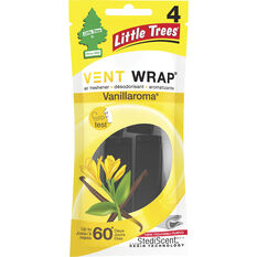 Little Trees Vent Wrap Air Freshener - Vanilla, , scaau_hi-res