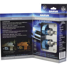 Narva - LED Headlight Conversion Kit - H7, 12/24V, , scaau_hi-res
