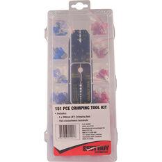 SCA Crimping Tool Kit - 151 Pieces, , scaau_hi-res