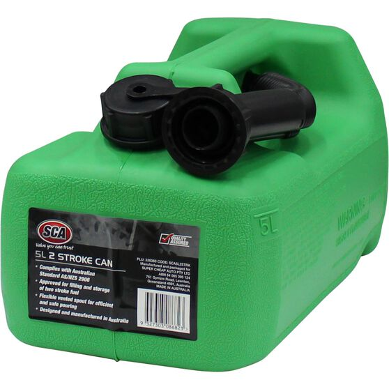 SCA 2 Stroke Jerry Can - 5 Litre, , scaau_hi-res