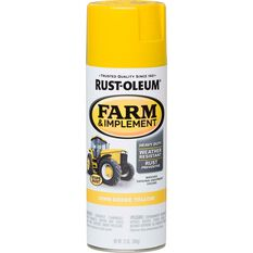 Rustoleum Aerosol Paint - Specialty Farm and Implement Enamel, Deere Yellow, , scaau_hi-res
