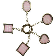 Photo Frame Keyring - Assorted, , scaau_hi-res