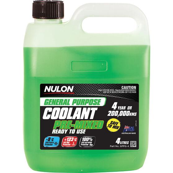 Nulon General Purpose Premix Coolant 4 Litre, , scaau_hi-res