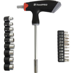 Screwdriver Set - T Bar, 20 Piece, , scaau_hi-res