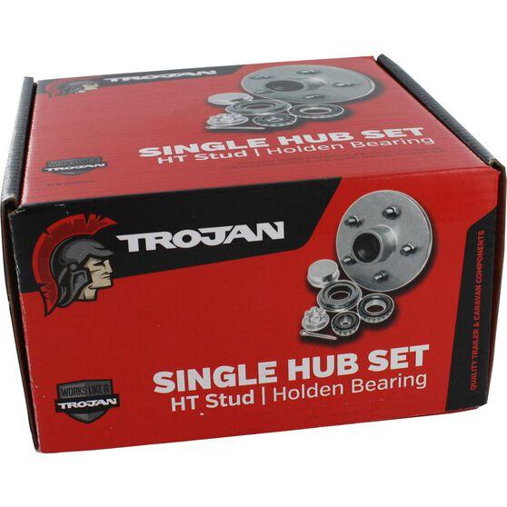Trojan Trailer Hub Kit - HT Holden, 155mm, , scaau_hi-res
